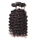 cheap Natural Color Hair Weaves-Brazilian Hair Curly Natural Color Hair Weaves 4 Bundles Human Hair Weaves Black Human Hair Extensions