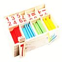preiswerte Lesespielsachen-Montessori Lernspielzeug Mathe-Spielzeug Bildungsspielsachen Spielzeuge Umweltfreundlich Bildung Holz Klassisch Stücke Kinder Geschenk