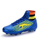 abordables Zapatos de Niño-Hombre / Chico Cuero Sintético Primavera / Otoño Confort Fútbol Antideslizante Negro / Azul / Oro