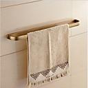 billige Sæbeskål-Håndklædestang Moderne Messing 1 stk - Hotel bad 1-håndklæde bar