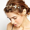 hesapli Saç Mücevheri-Kadın's Genç Kız Temel Doğa Zarif minimalist tarzı Altın Kaplama alaşım Saç Bandı - Çiçekli