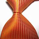 billige Tilbehør til herrer-Herre Luksus / Rutenett / Klassisk Slips - Elegant, Kreativ
