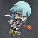 billige Anime actionfigurer-Anime Action Figurer Inspirert av Sword Art Online Shino PVC 10 cm CM Modell Leker Dukke