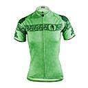 halpa Keittiövälineet-ILPALADINO Naisten Lyhythihainen Pyöräily jersey - Vihreä Pyörä Jersey, Nopea kuivuminen, Ultraviolettisäteilyn kestävä, Hengittävä