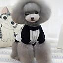 preiswerte Hundekleidung-Hund T-shirt Hundekleidung Streifen Grau Blau Baumwolle Kostüm Für Haustiere Herrn Damen Modisch