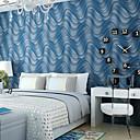 billige Vegglamper-Stribe Hjem Dekor Moderne Tapetsering, Ikke vævet papir Materiale selvklebende nødvendig bakgrunns, Tapet