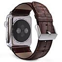 billige Stativer og holdere-Klokkerem til Apple Watch Series 3 / 2 / 1 Apple Klassisk spenne Ekte lær Håndleddsrem