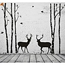 cheap Wall Stickers-Abstract Landscape Wall Stickers Plane Wall Stickers Decorative Wall Stickers, Vinyl Home Decoration Wall Decal Wall Decoration