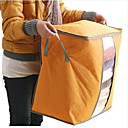 cheap Travel Bags & Hand Luggage-Textile Plastic Oval Lidded Home Organization, 1pc Storage Boxes