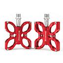 preiswerte LED Glühbirnen-Pedale Geländerad / Rennrad Aluminiumlegierung Rot