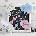 abordables Decoraciones de Boda-Baby Shower / Fiesta de Boda Papel duro Material Mixto Decoraciones de la boda Tema Clásico Todas las Temporadas