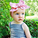 cheap Kids' Headpieces-Toddler Girls' Sweet Solid Colored Bow Cotton Hair Accessories / Headbands