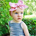 preiswerte Kinder Hüte & Kappen-Baby Mädchen Süß Alltag Solide Schleife Baumwolle Haarzubehör Purpur / Blau / Rosa Einheitsgröße / Stirnbänder