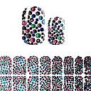 baratos Película para Unhas-Modelo de estampa de unhas Nail Art Design Diário Fashion Alta qualidade