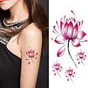 abordables Tatuajes Temporales-1 pcs Los tatuajes temporales Art Deco / Retro 3D Artes de cuerpo Rostro / manos / brazo