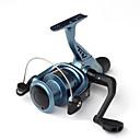 abordables Carrete de pesca-Carretes para pesca spinning 5.0:1 Relación de transmisión+1 Rodamientos de bolas Orientación de las manos Intercambiable Pesca de Mar /