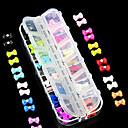 preiswerte Aufkleber für Nägel-Nagel-Kunst-Dekoration Strassperlen Make-up kosmetische Nagelkunst Design
