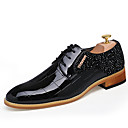 cheap Men's Oxfords-Men's Formal Shoes Patent Leather Fall / Winter Oxfords Black / Red / Party & Evening