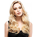 cheap Synthetic Capless Wigs-Synthetic Wig Curly Synthetic Hair Blonde Wig Women's Long Capless