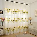 preiswerte Gardinen-Schlaufen für Gardinenstange Ösen Schlaufen Zweifach gefaltet plissiert zwei Panele Window Treatment Landhaus Stil, Stickerei Esszimmer