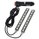 رخيصةأون مصابيح أضواء السيارة الداخلية-سيارة لمبات الضوء 10W 300lm 18 LED أضواء الداخلية