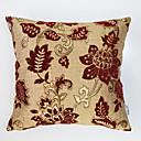 preiswerte Dekorative Kissen-1 Stück Polyester Kissenbezug, Blumen Traditionell