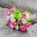 cheap Artificial Flower-1 Branch Silk Roses Tabletop Flower Artificial Flowers