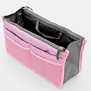 cheap Bakeware-Unisex Bags Nylon Cosmetic Bag Zipper Blue / Pink / Yellow