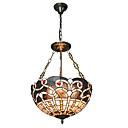 tanie Żyrandole-CXYlight 3 światła Lampy widzące Oświetlenie od dołu (uplight) Inne Metal Szkło Styl MIni 110-120V / 220-240V Nie zawiera żarówek / E26 / E27