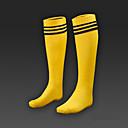 abordables Zapatillas de Fútbol-gruesas absorbente y transpirable niños de deslizamiento calcetines hasta la rodilla calcetines deportivos de fútbol