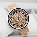 preiswerte VGA Kabel & Adapter-Herrn / Damen / Paar Armbanduhr Armbanduhren für den Alltag Stoff Band Charme / Modisch / Holz Schwarz / Weiß / Beige
