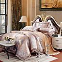 billige Kinesiske røde dynetrekk-Sengesett Luksus Silke / Bomulds Blanding Mønstret 4 delerBedding Sets / >800