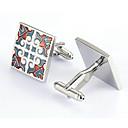 billige Herre Smykker-Sølv Manchetter Legering Kontor / Afslappet Herre Kostume smykker Til