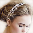 cheap Jewelry Sets-The New Bride High-Grade Pan Head Hair Pure Manual White Double Strands Of Hair Band