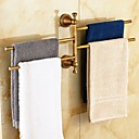 cheap Toilet Paper Holders-Towel Bar Antique Brass 1 pc - Hotel bath 4-towel bar