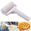 cheap Kitchen Tools-Special Plastic Bread Cookie Pie Pizza Cake Baking Pastry Crust Mold Tool Lattice Netting Roller Hobbing Cutter Knife
