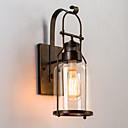 abordables Luces de Techo-Rústico / Campestre Lámparas de pared Metal Luz de pared 220v / 110V 60W