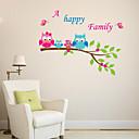 preiswerte Wand-Sticker-Tiere 3D Botanisch Wand-Sticker Flugzeug-Wand Sticker Dekorative Wand Sticker, Vinyl Haus Dekoration Wandtattoo Wand