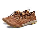 baratos Sapatos Esportivos Femininos-Mulheres Sapatos Tule Primavera / Verão / Outono Conforto Aventura / Água Sem Salto Cinzento / Marron / Verde