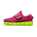 baratos Sapatos de Menina-Para Meninos / Para Meninas Sapatos Tecido Primavera Conforto / Tênis com LED Tênis Velcro / LED para Vermelho / Verde / Azul