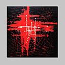 preiswerte Abstrakte Gemälde-Hang-Ölgemälde Handgemalte - Abstrakt Modern Mit der Fassung