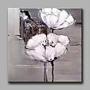 abordables Collares-Pintura al óleo pintada a colgar Pintada a mano - Floral / Botánico Clásico Modern Lona