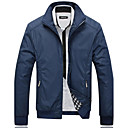 cheap Soldering Iron & Accessories-Men's Classic & Timeless Jacket - Solid Colored Shirt Collar / Long Sleeve