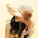رخيصةأون قطع رأس-قبعة مرنة خملة الجاكوارد نسائي - طباعة قطن, عطلة / جميل / ذهبي / بيج / أزرق / رمادي