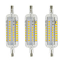 cheap LED Bi-pin Lights-YWXLIGHT® 3pcs 4W 350-400 lm R7S LED Corn Lights T 60 leds SMD 2835 Waterproof Decorative Warm White Cold White AC 220-240V