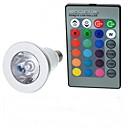 cheap LED Corn Lights-100-200 lm E14 LED Globe Bulbs A50 1 LED Beads High Power LED Remote-Controlled RGB 85-265 V / 1 pc