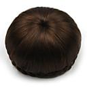 billige Hårstykker-kinky krøllet brunt menneskehår blonder parykker chignons 2009
