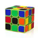 halpa Puiset palapelit-Rubikin kuutio YONG JUN Valoisa hehku-kuutio 3*3*3 Tasainen nopeus Cube Rubikin kuutio Puzzle Cube Professional Level Nopeus Hehkuu