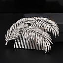 cheap Party Headpieces-Rhinestone / Alloy Hair Combs with 1 Wedding / Special Occasion Headpiece