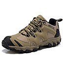 cheap Men's Slip-ons & Loafers-Men's Nappa Leather Spring / Summer / Fall Comfort Hiking Shoes Khaki